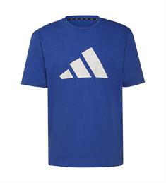Adidas M FI 3B heren sportshirt blauw