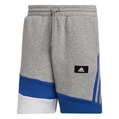 Adidas M FI CB SH heren sportshort grijs dessin
