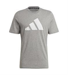 Adidas M FI Tee Bos heren shirt grijs