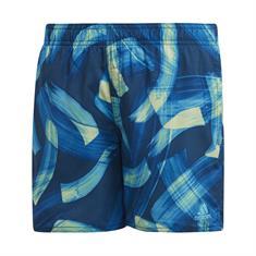 Adidas Par Short jongens zwemshort blauw dessin