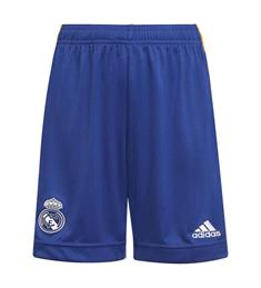 Adidas REAL MADRID 21/22 UIT junior voetbalbroekje blauw