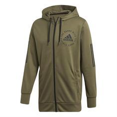 Adidas Sid FZ heren sportsweater khaki