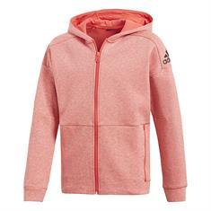 ADIDAS Stadium Hoodie meisjes sweater zalm