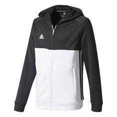 ADIDAS T16 Hoody jongens sportsweater zwart