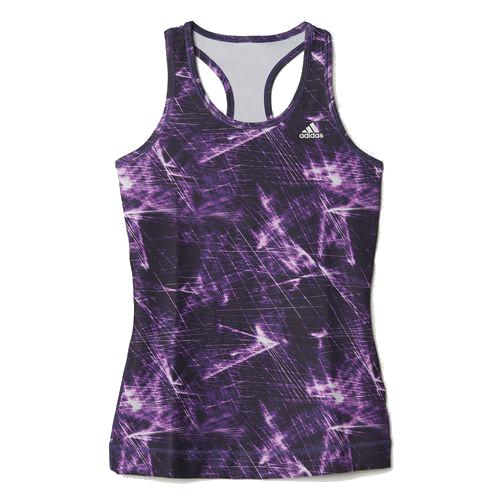 Adidas Techfit solid Dames sportshirt