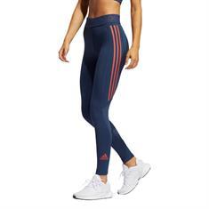 Adidas TF L 3S T dames hardloopbroek lang blauw