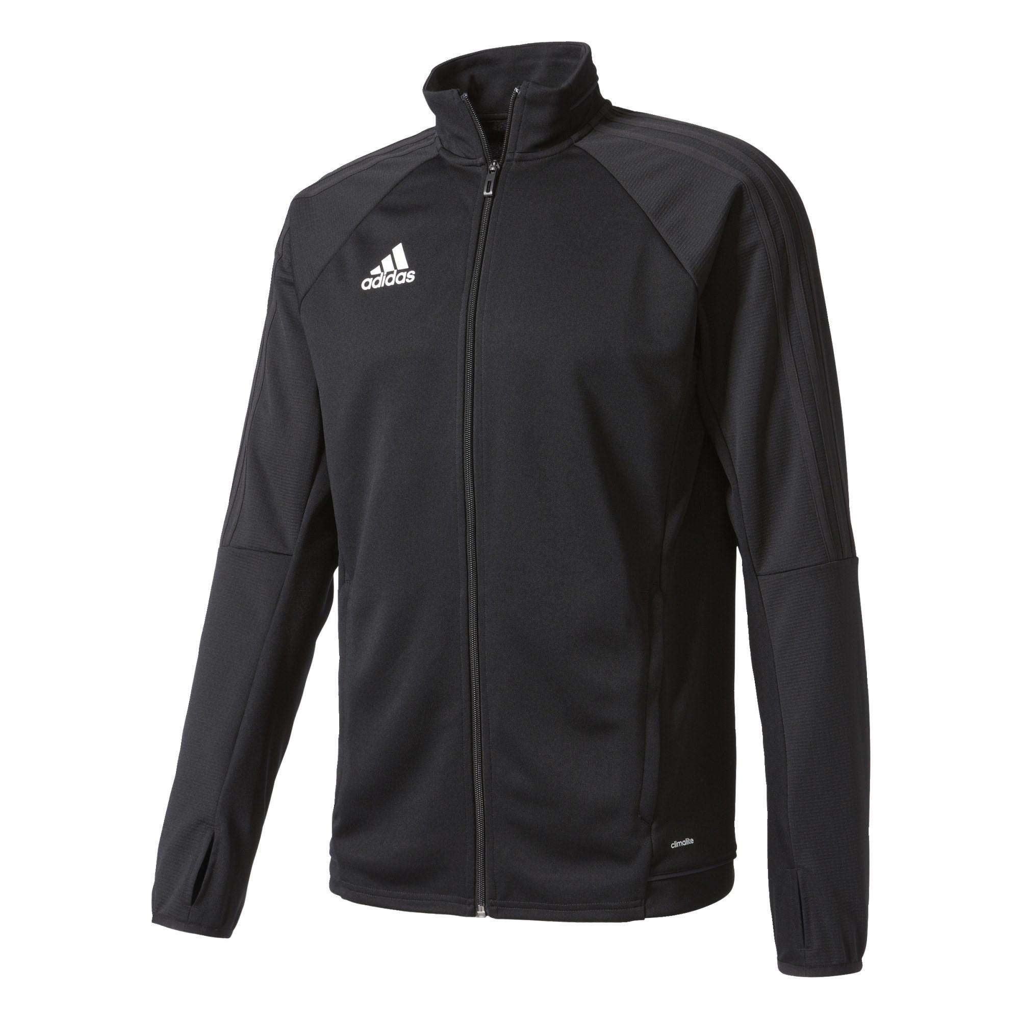 Adidas Tiro 17 Trg Jkt Sr. Voetbalsweater