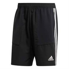 Adidas Tiro Short / incl. Rits voor telefoon heren voetbalshort zwart