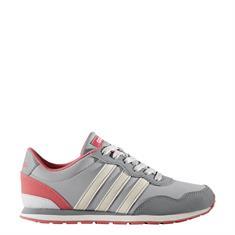 ADIDAS V Jog K meisjes schoenen licht grijs
