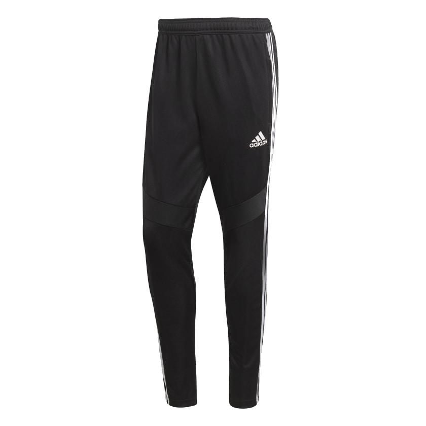 Adidas voetbalbroek (lang) zwart