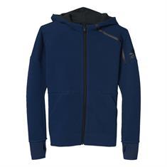 ADIDAS Zne Fz Hoody meisjes sweater blauw