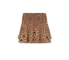 Alix The Label Woven Jaguar dames casual rok bruin dessin