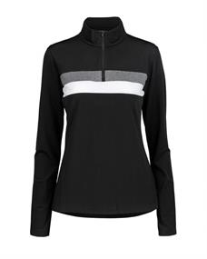 Altitude 8848 Lexie W Sweat dames ski pulli met rits zwart