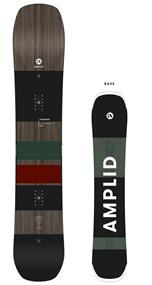 Amplid Creamer all mountain snowboard antraciet