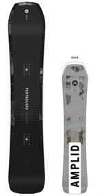 Amplid Pentaquark 158 freestyle heren snowboard antraciet