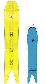 Amplid Snommelier 166 freestyle heren snowboard lime groen