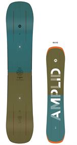 Amplid Stereo all mountain snowboard petrol