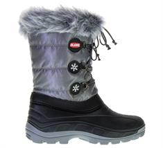 Antar Moonboots Patty.Antra.816 dames snowboots antraciet