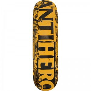 Anti Hero Budget Cuts 8.25 Skateboard ZWART
