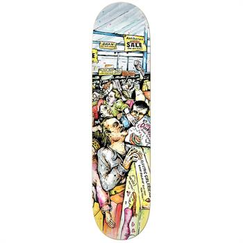 Anti Hero Daan Mall Grab 8.12 Skateboard ZWART