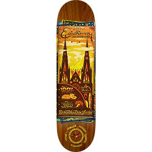 Afbeelding van Anti Hero Daan Maps 8.12 Skateboard steenrood