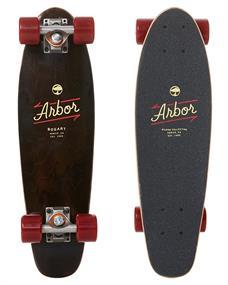 Arbor Bogart Micron Cruiser 24 longboard donkerbruin