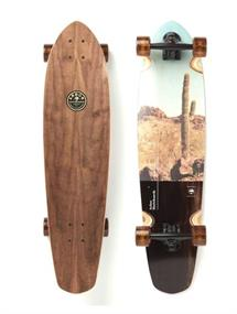 Arbor Photo Mission Multi 35' longboard donkerbruin