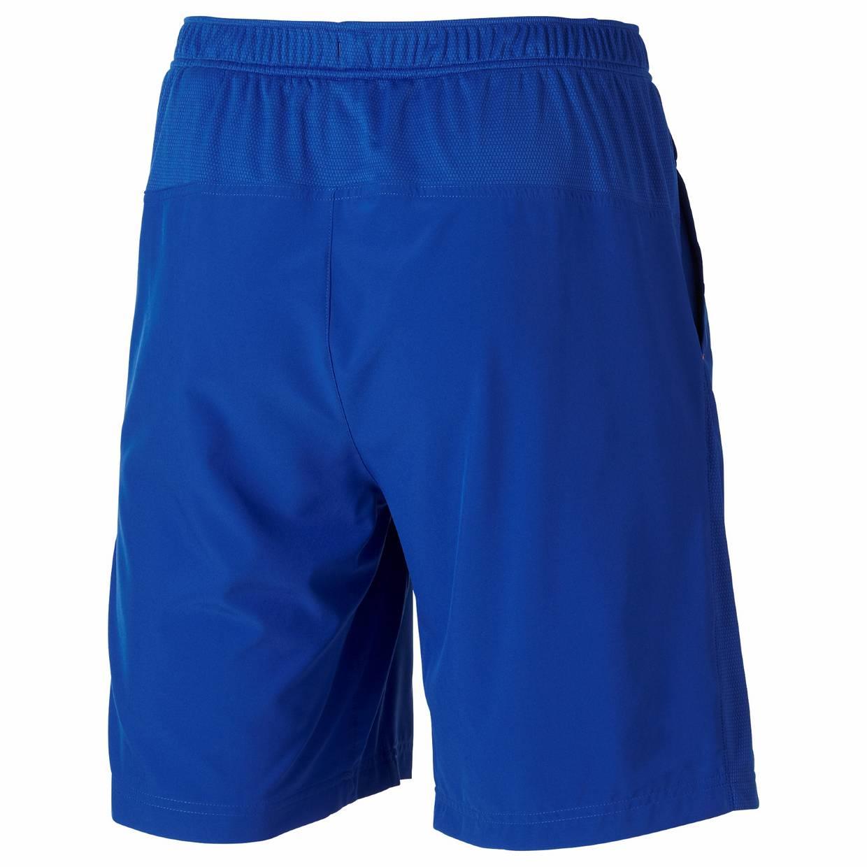 heren short Asics Club Woven Short 122767.8107 kobalt