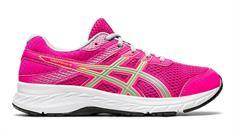 Asics Contend 6 GS meisjes hardloopschoenen pink