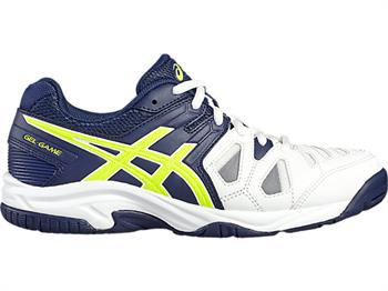Asics Game 5 GS Junior tennisschoenen WIT
