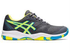 Asics Padel Exclusive 6 heren padel schoenen antraciet