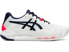 Asics Resolution 8 dames tennisschoenen wit