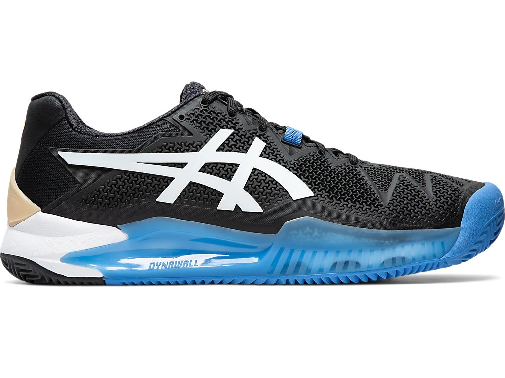 Asics Resolution 8 heren tennisschoenen