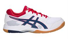 Asics Rocket 8 indoorschoenen wit