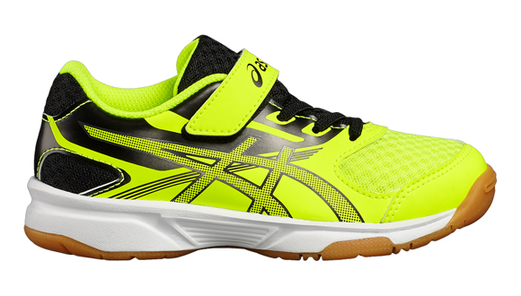 Asics Upcourt 2 Junior indoorschoenen GEEL ...