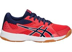 Asics Upcourt 3 gs junior indoorschoenen rood