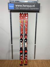 Atomic 120-2858 Race kinder ski gebruikt rood