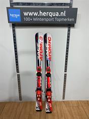 Atomic 123-2559 Race kinder ski gebruikt rood