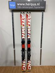 Atomic 17-2609 Race kinder ski gebruikt rood