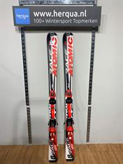 Atomic 48-2523 Race kinder ski gebruikt rood
