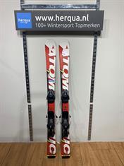 Atomic 77-2529 Race kinder ski gebruikt rood