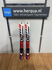 Atomic 79-320 Race kinder ski gebruikt rood
