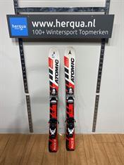 Atomic 87-266 Race kinder ski gebruikt rood