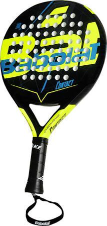 Babolat Contact sr. padel racket geel