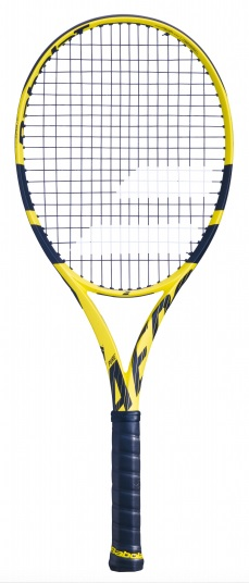 Babolat Pure Aero Team competitie tennisracket geel