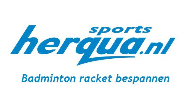 Afbeelding van Badminton bespannen racket geen kleur