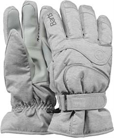 Barts Beste koop basic ski dames vinger handschoenen licht grijs