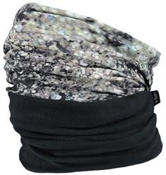 Barts Multicol Polar sjaal sr licht grijs