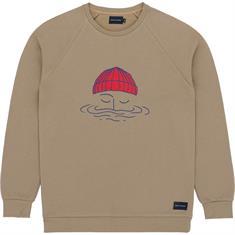 Baskinthesun Sailor heren casual sweater bruin