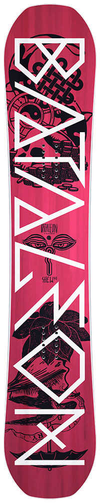 Bataleon She-W freestyle dames snowboard rose